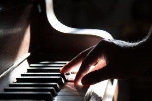 piano bij uitvaart