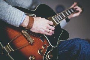 gitaar bij uitvaart