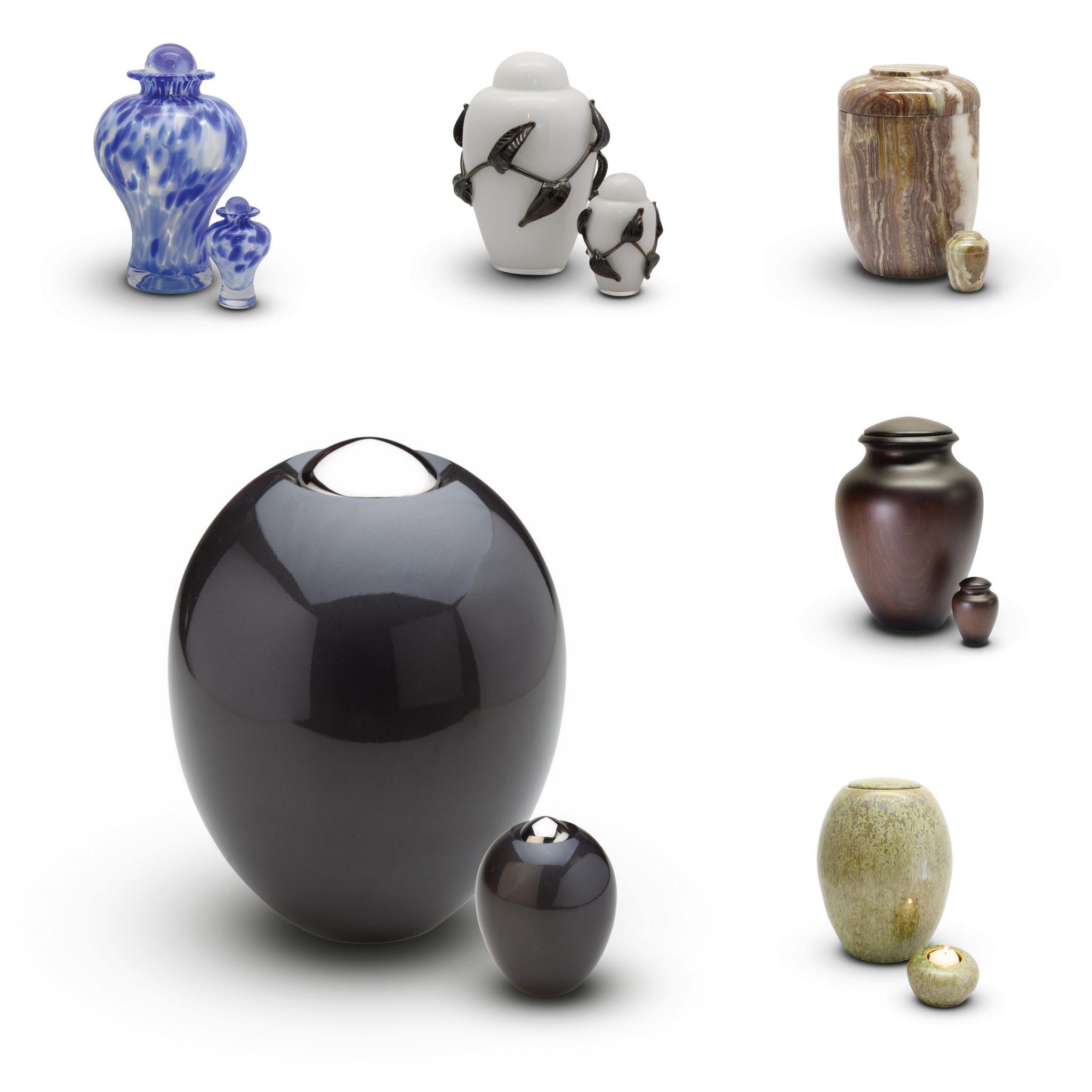 Voorbeeld urnen