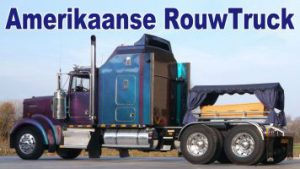 rouw vrachtwagen