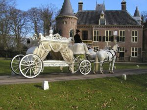 witte rouwkoets