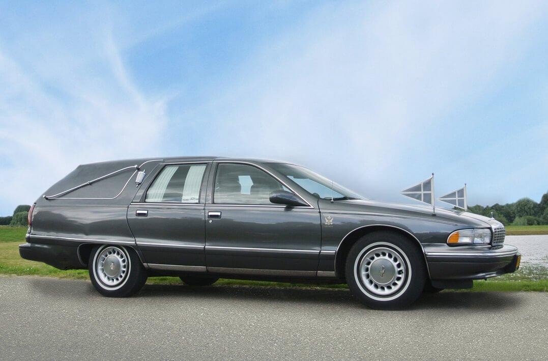 Chevrolet rouwauto rouwvervoer