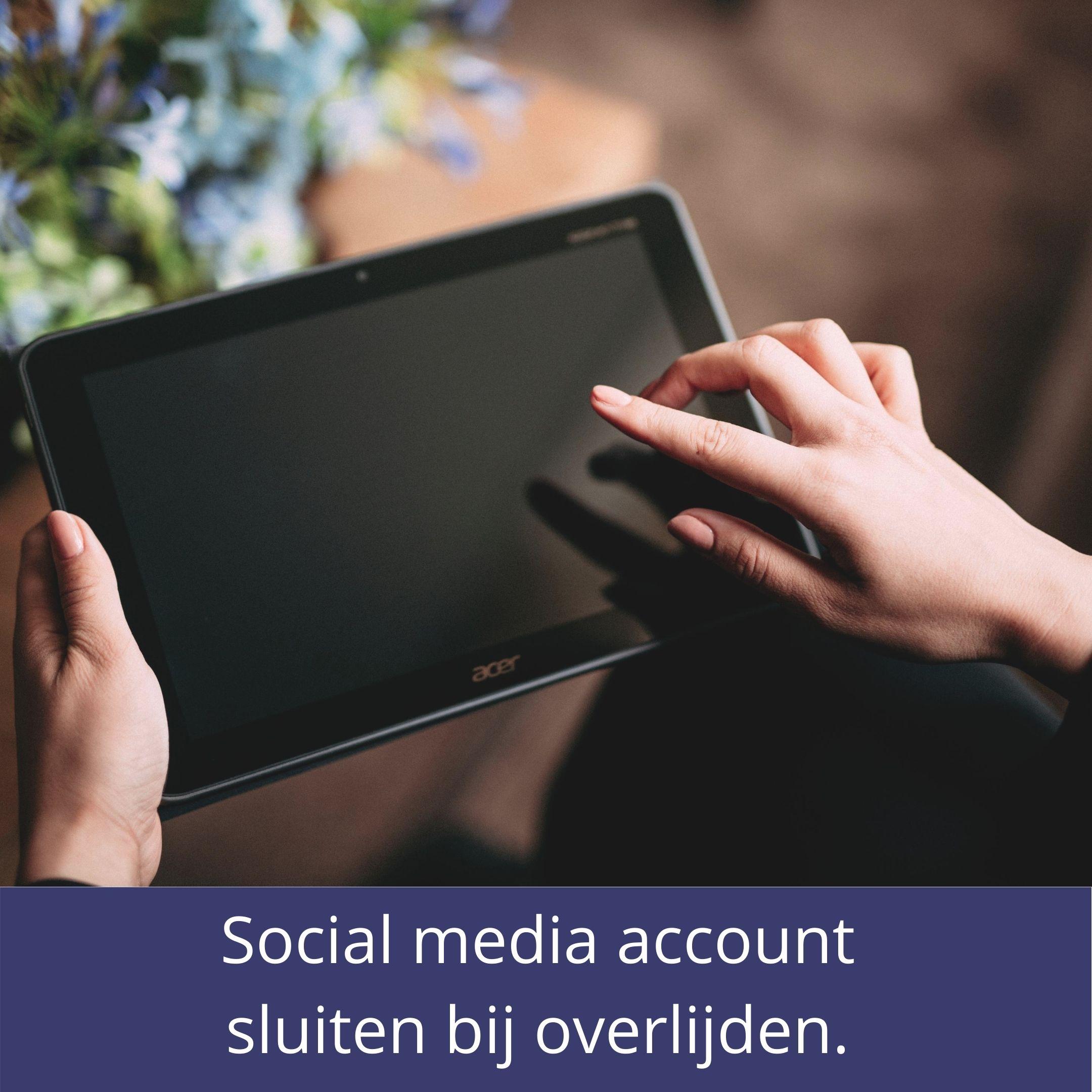 Social-Media-Account-Verwijderen